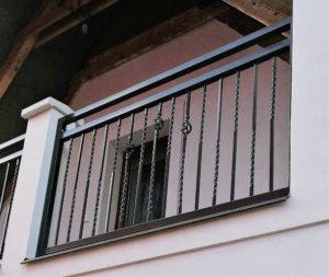 Balkónové zábradlí - samostatné pole